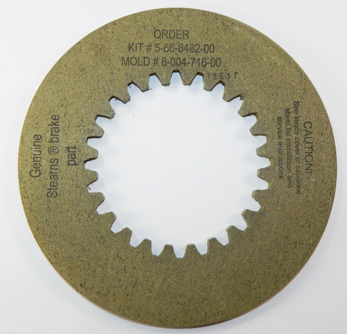 Stearns Brake Friction Disc (8-004-716-00) Replacement # 5-66-8482-00