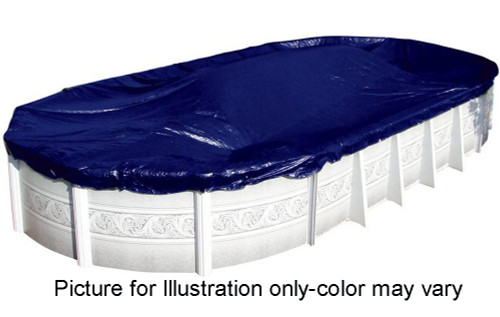 SWIMLINE 18' x 34' Oval Winter Above Ground Swimming Pool Cover 8 Year Limited Warranty S1834OV