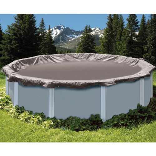 SWIMLINE SUPER DELUXE 18\' Diameter Winter Above Ground Swimming Pool Cover  15 Year Limited Warranty SD18RD