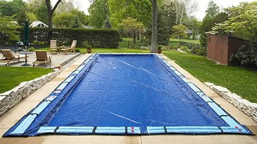 SWIMLINE SUPER DELUXE 25' x 45' Rectangle Winter Inground Swimming Pool Cover 15 Year Limited Warranty SD2545RC