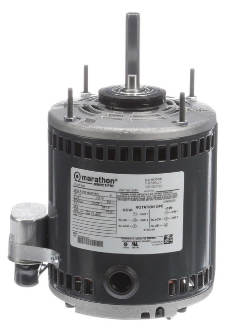X261 Marathon 1/8 hp 825 RPM, 48Y, 115V Greenheck Replacement Motor