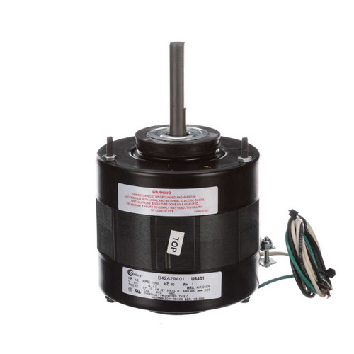 "U6431 Century Unit Heater Motor 1/8 hp 1050 RPM 1-Speed 5"" Diameter 115V Century # U6431"
