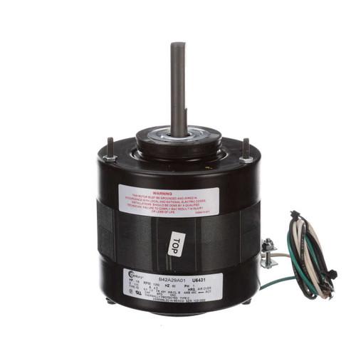 "U6431 Century Unit Heater Motor 1/8 hp 1050 RPM 1-Speed 5"" Diameter 115V Century # U6431"