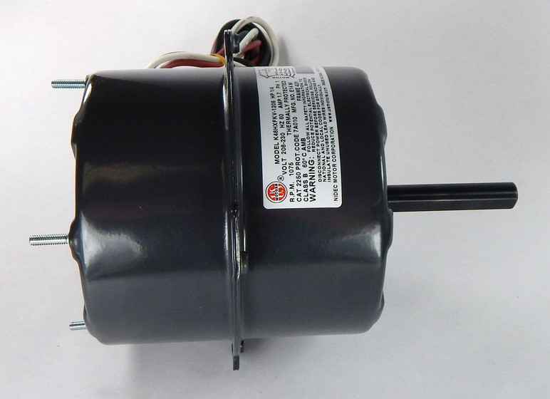 5 Quot Condenser Fan Motor 1 4 Hp 1075 Rpm 208 230 Volts 2250