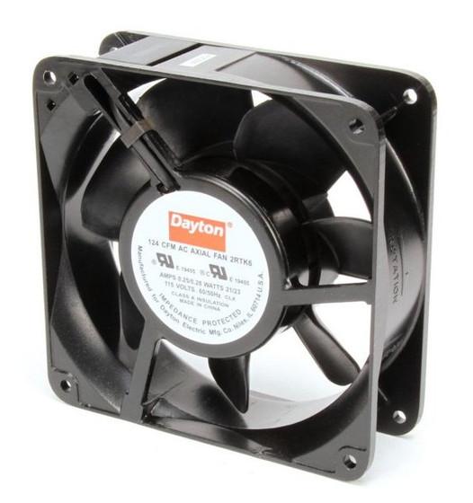 Dayton Axial Fan 115 Volts Ac 21 Watts 124 Cfm Model 2rtk6