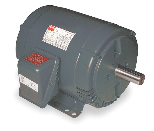3 Hp Belt Drive Blower 3 Phase Motor 1725 Rpm 182t 208 230