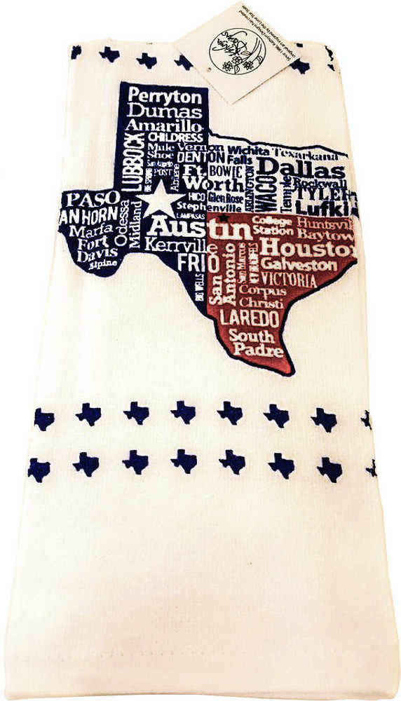 Texas City Towel