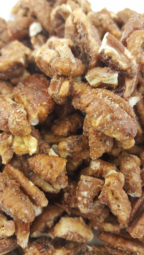 Sweet, Salty & Spicy Pecans