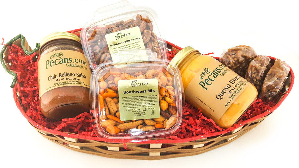 Pepper Gift Basket Snacker