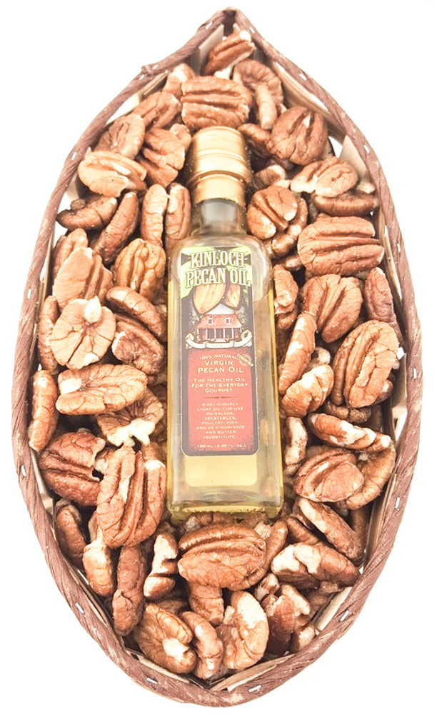 Texas Pecan Gift Basket W/Oil