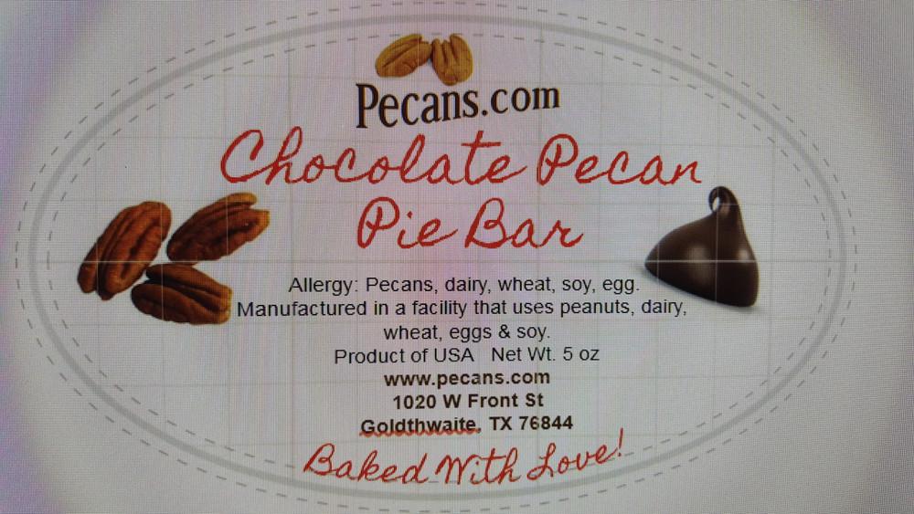 Chocolate Pecan Pie Bar