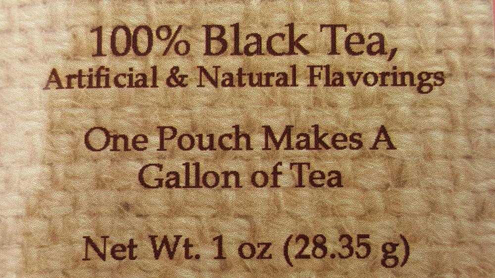 Single Flavored Tea