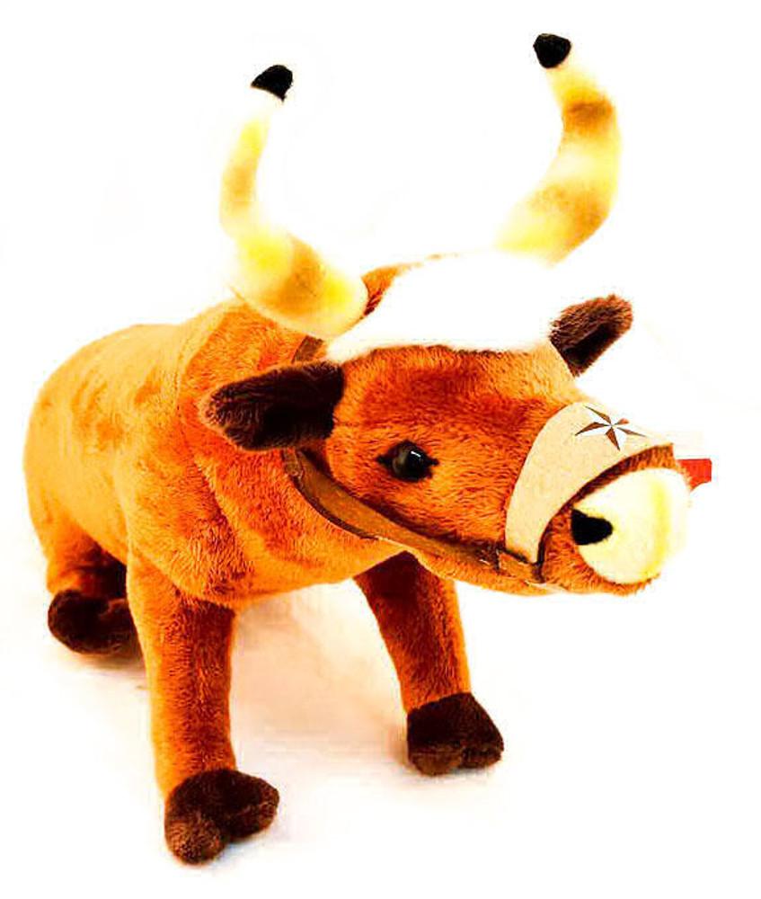 Texas Stuffed Animal Longhorn Bull