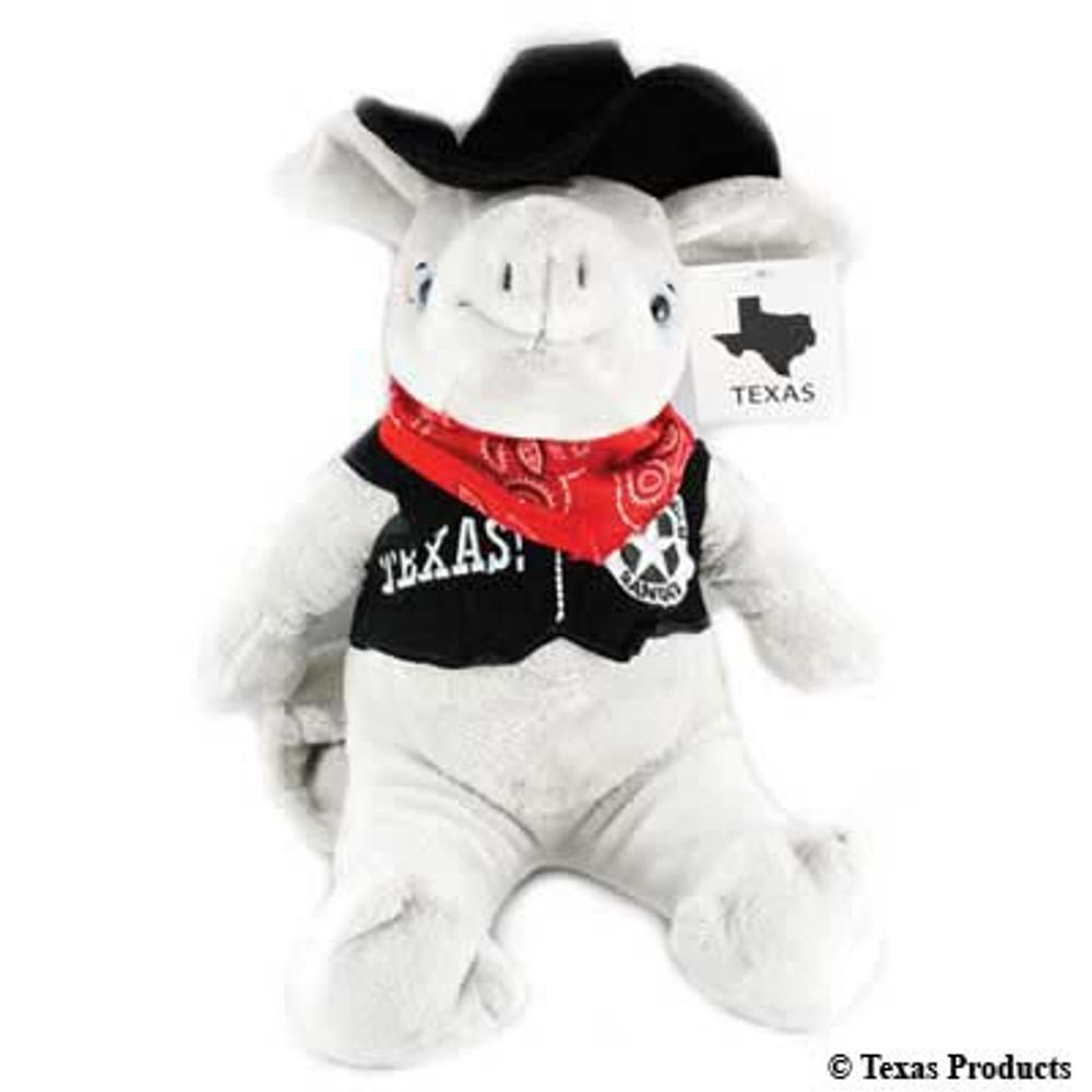Texas Stuffed Armadillo