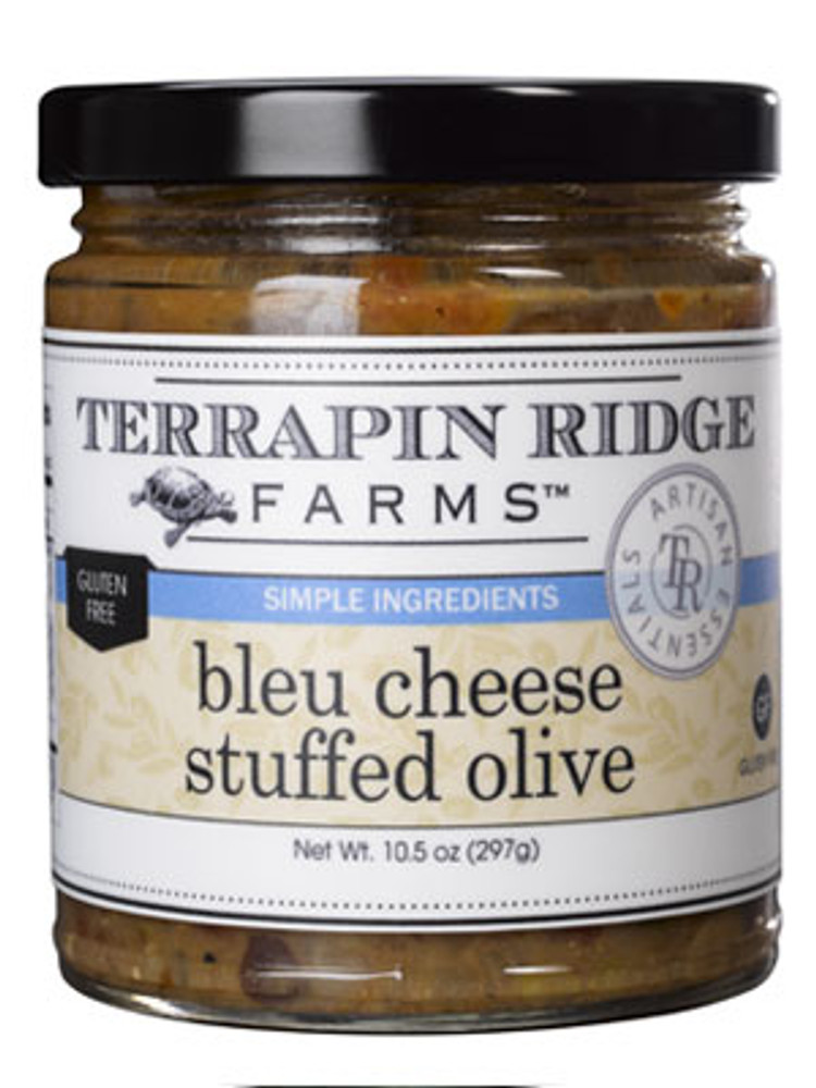 Blue Cheese Stuffed Olive Tapenade