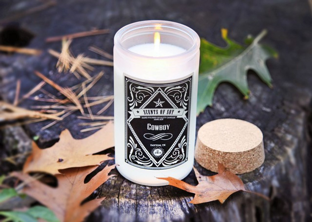 Soy Candle Cowboy