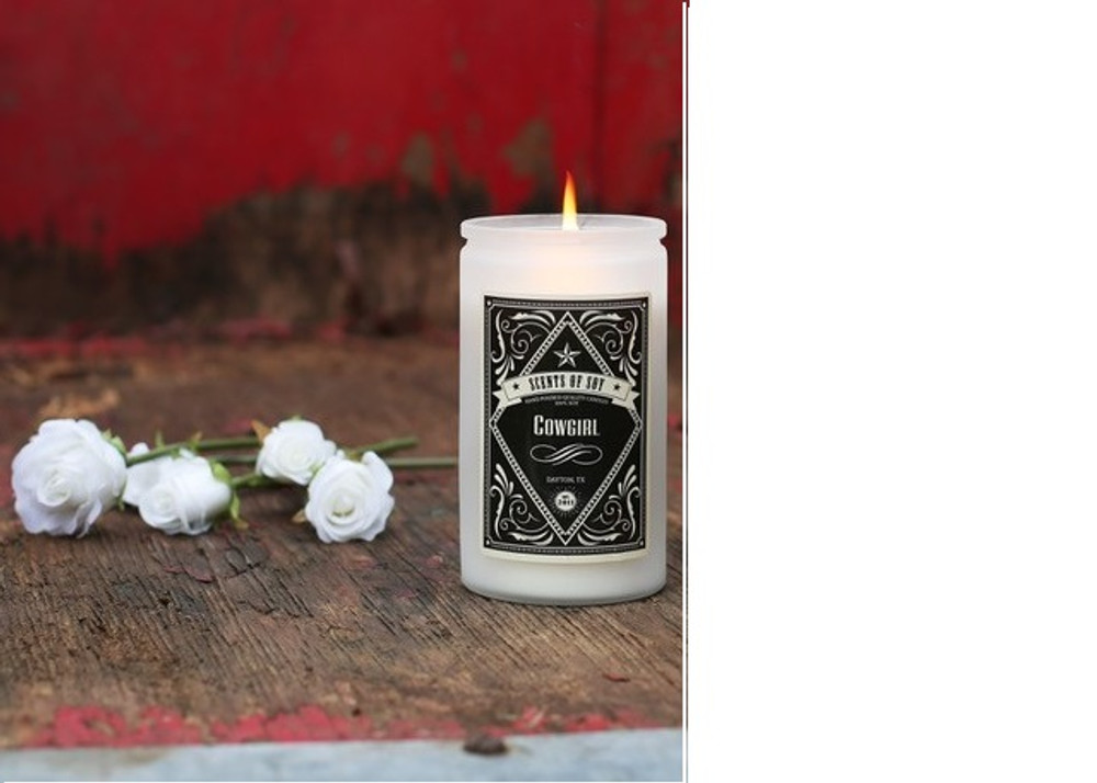 Soy Candle Cowgirl