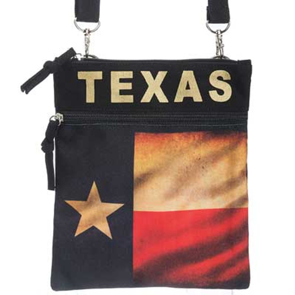 Neck Wallet Vintage Texas Flag