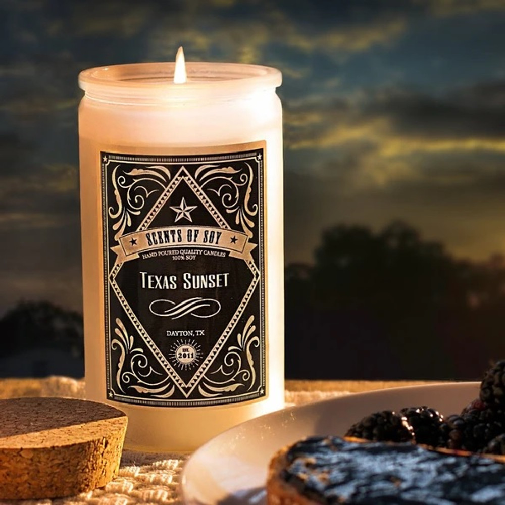 Soy Candle Texas Sunset