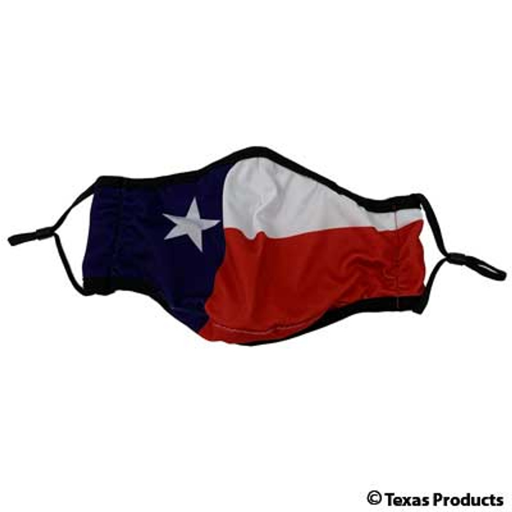 Face Mask Texas Flag