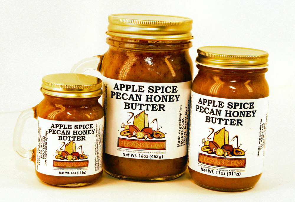 Apple Spiced Pecan Honey Butter