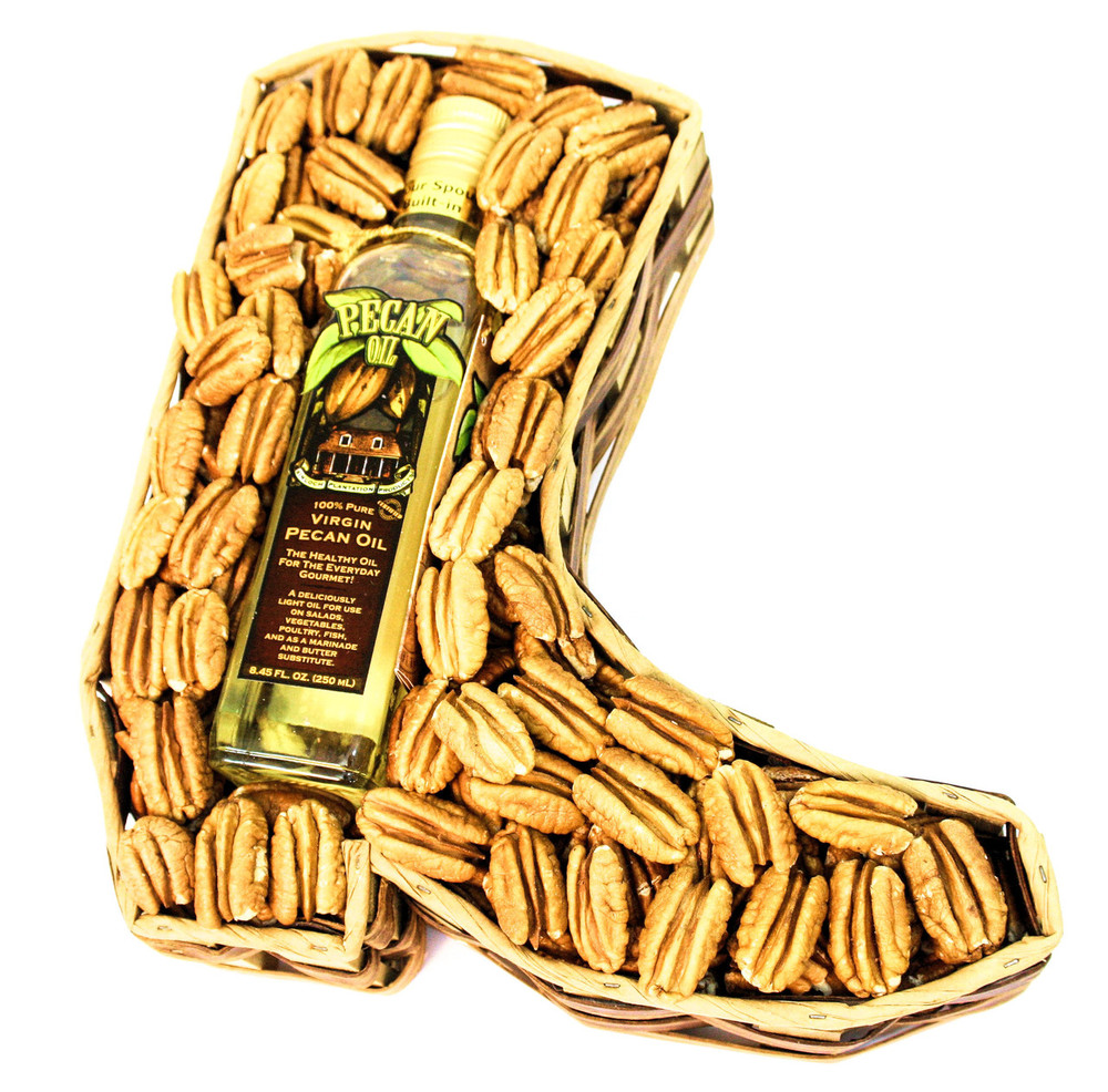 Cowboy Boot with Pecan Oil