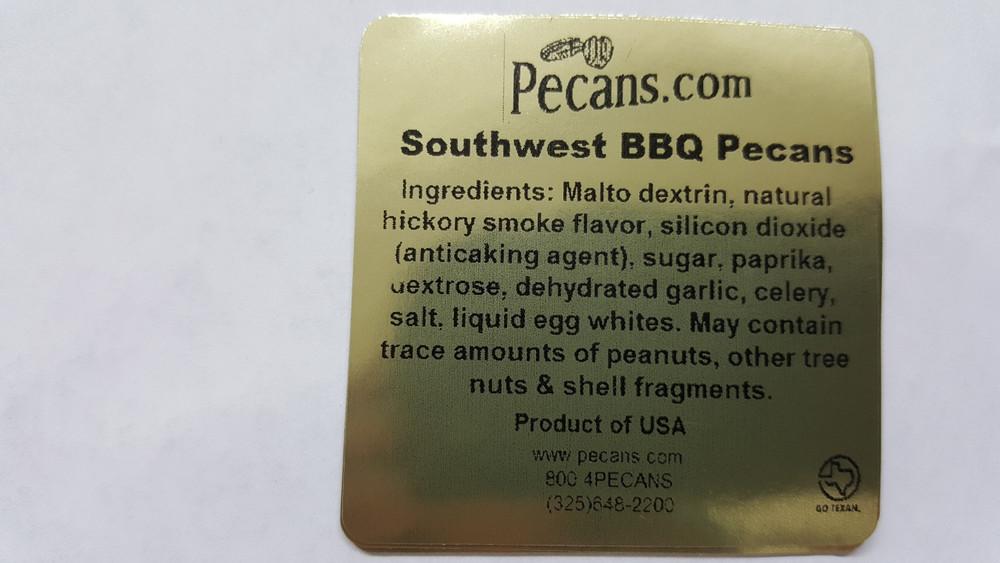 Southwest BBQ Pecans
