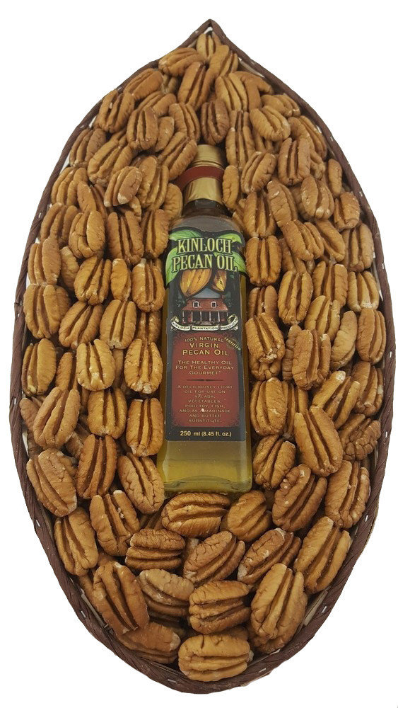 Pecan Basket W/Oil