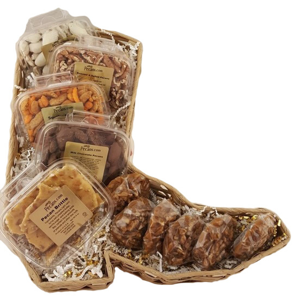 Cowboy Boot Basket Snacker