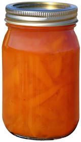 Juice Sweetened Peach Preserves