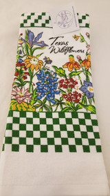 Kitchen Tx Wildflower Towel