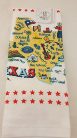 Kitchen Tx Map Towel