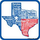 Texas City Potholder