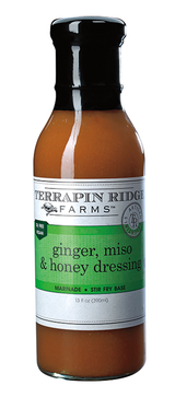 Ginger, Miso and Honey Dressing