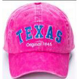 Cap - Hot Pink W/ Blue