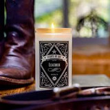 Soy Candle Leather