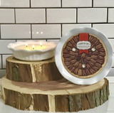Southern Pecan Pie Plate Soy Candle