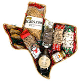 Texas  Happy Holidays Basket