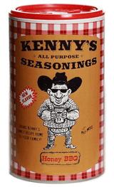 Kenny's Honey BBQ Seasoning 15 oz