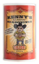 Kenny's Cajun Seasoning 8oz