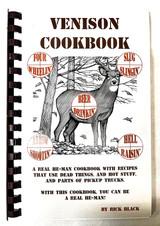 Venison Cookbook by Rick Black