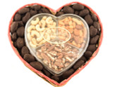 Snack Mix Dark Chocolate Pecans Heart