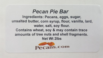 Pecan Pie Bar (Sheet)
