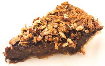 German Chocolate Pecan Pie