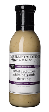 Sweet Red Onion White Balsamic Dressing