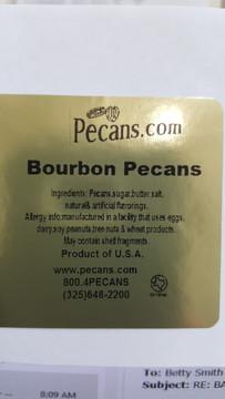 Bourbon Pecans
