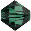 6mm Emerald Swarovski® Bicone