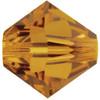 4mm Crystal Copper Swarovski® Bicone