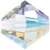 6mm Crystal AB Swarovski® Bicone Factory Pack