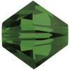 8mm Fern Green Swarovski® Bicone